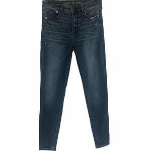 American Eagle High Rise Stretch Jegging Jeans 8
